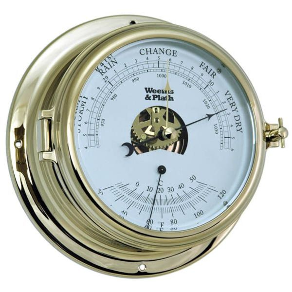 WEEMS & PLATH PLATH ENDURANCE II 135 BAROMETER/THERMOMETER