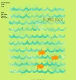Coastal Classics Coastal Classics Girls Gold Fish Curvey FLowy Tank