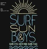 Coastal Classics Coastal Classics Wms Surf Sun Boys Jrs Tri-blend Scoop Vintage Black