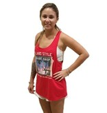 Coastal Classics Womens Afternoon Delight Scoop Tank