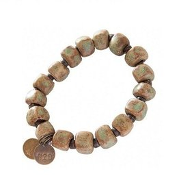 Simbi USA Inc SIMBI SQUARE CLAY COPPER BRACELET