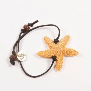 Shellie SHELLIE SUGAR LEATHER BRACELET