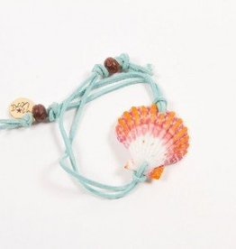 Shellie SHELLIE SURREAL LEATHER BRACELET