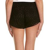 MACBETH COLLECTION THE CROCHET SHORT - BLACK