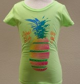 Coastal Classics Coastal Classics Girls Sliced Pineapple Tee