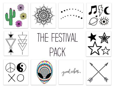 Inked by Dani The Festival Pack