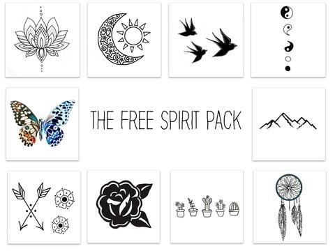 Inked by Dani The Free Spirit Pack