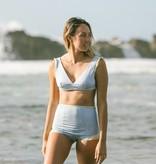 Seea Isabel High Waisted Bikini Bottom