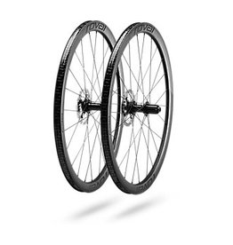 Specialized RAPIDE C 38 DISC WHEELSET - Satin Carbon/White
