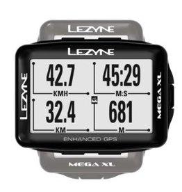 Lezyne Mega XL, Cyclometre, GPS: Oui, Cardio: En option, Cadence: Optionnelle, Noir