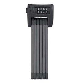 Abus Abus, Bordo 6100, Cadenas pliable avec serrure a combinaison, 90cm (3'), Fixation, Noir