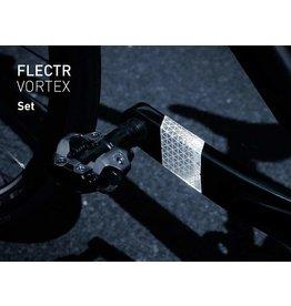 Flectr NOUVEAU FLECTR-VORTEX REFLECTEUR DE MANIVELLE (ARGENT)