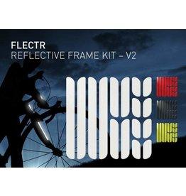 Flectr Reflecteur de Cadre Kit (Rouge / Argent / Jaune)