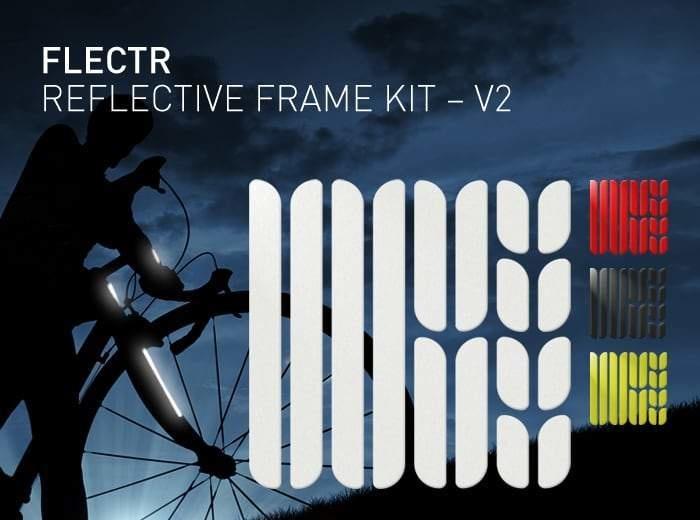 Flectr NOUVEAU FLECTR- REFLECTEUR DE CADRE KIT (ROUGE/ARGENT/JAUNE)