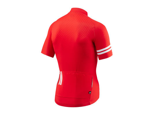 Giant Podium SS Jersey Rouge/Blanc