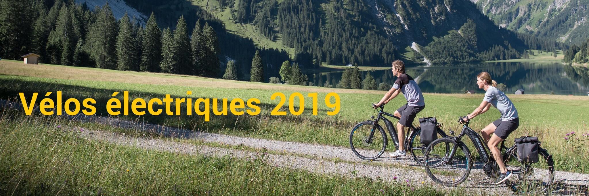 Vélos électriques 2019