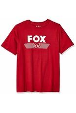 Fox Youth Aviator SS Tee cardinal