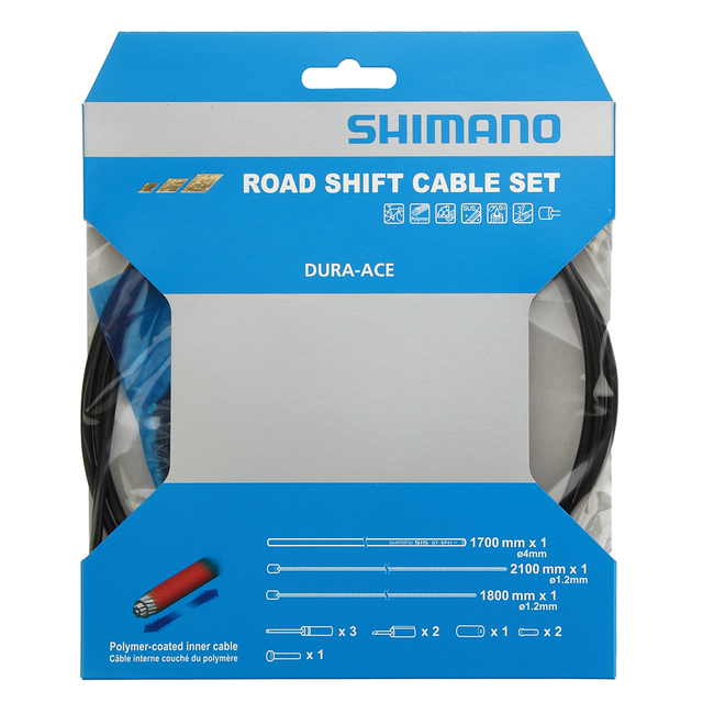 Shimano Shift cable set road polymer