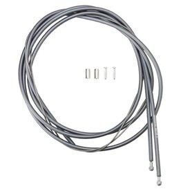 Shimano Kit cables et gaines de freins, Inox enduit de PTFE, Route, Gris