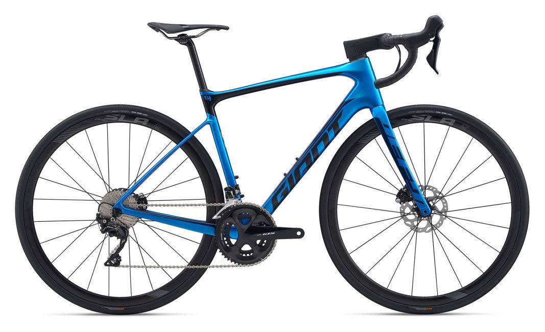 Giant 2020 Defy Advanced Pro 3 Bleu Métallique