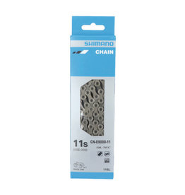 Shimano CHAIN, CN-E8000-11, 138 LINKS FOR HG-X 11 SPEED, W/QUICK LINK