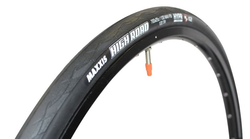 Maxxis Maxxis High Road Tire - 700 x 25, Tubeless, Folding, Black, Single, HYPR