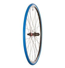 Tacx Wheel Shop, ITR 2, Roue d'entrainement 700C Alex DA-22 Black / Novatec 212R Noir, QR Axle, 11 vitesses avec espaceur pour 8/9/10 vitesses avec pneu Tacx Trainer