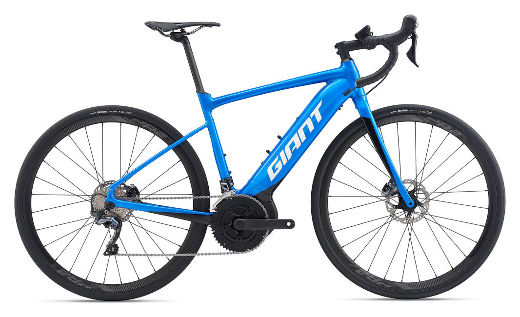 Giant 2020 Road E+1 Pro medium bleu