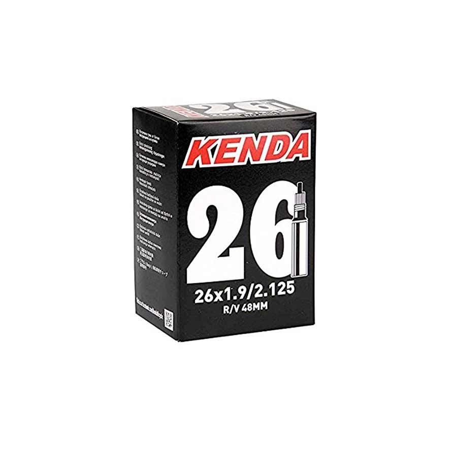 Kenda Presta - Valve Amovible, Chambre a air, Presta, Longueur: 48mm, 26'', 4.00-5.00