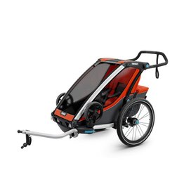 Thule Chariot Cross + Cycle/Stroller orange