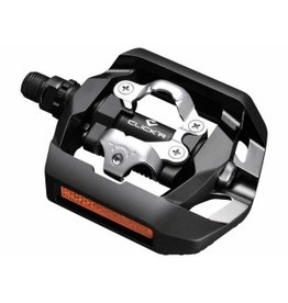 Shimano PD-T421 Black Dual Sided Platform Click'R SPD
