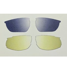 Liv REPLACEMENT LENS SET Alert Yellow and Dark Grey