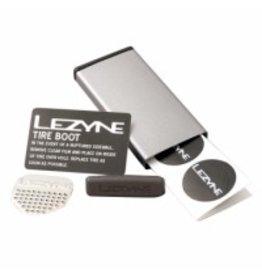 Lezyne Metal Kit, Trousse de rustines, Boite Inox