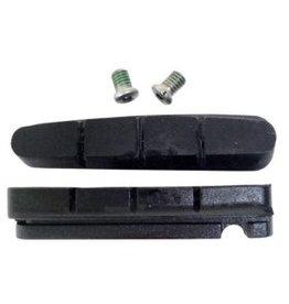 Shimano Y8FA98130, R55C+1, BR-7700/6500/5500, Gommes de remplacement (+1mm), Paire