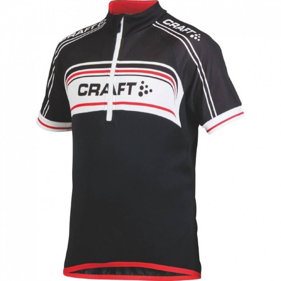 Craft Jb Logo jersey Noir Junior