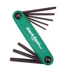 Park Tool Park Tool, TWS-2, Cles Torx repliables, T7, T9, T10, T15, T20, T25, T27, T30 et T40