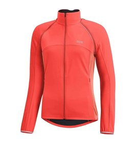 Gore Bike Wear C3 Wmn GWS Phantom, Manteau a manches amovibles, Orange Lumi/Corail