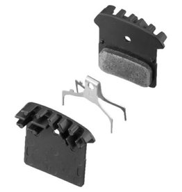 Shimano Shimano, Y8J79801A, F01A, BR-M985, Disc brake pads, With fins, Resin, Pair, F type