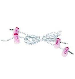 FuelBelt Lacet elastiques avec Lace Locks, Blanc