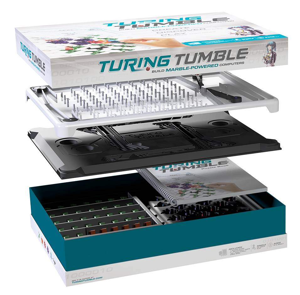 Turing Tumble Marble Powered Computer