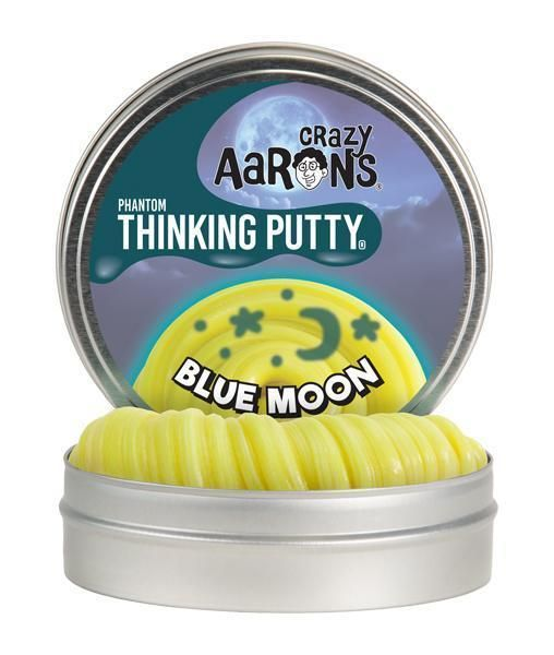 Crazy Aarons Putty World Crazy Aaron's Thinking Putty- UV Reactive Phantom