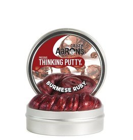 Crazy Aarons Putty World Crazy Aaron's  Precious Thinking Putty Burmese Ruby
