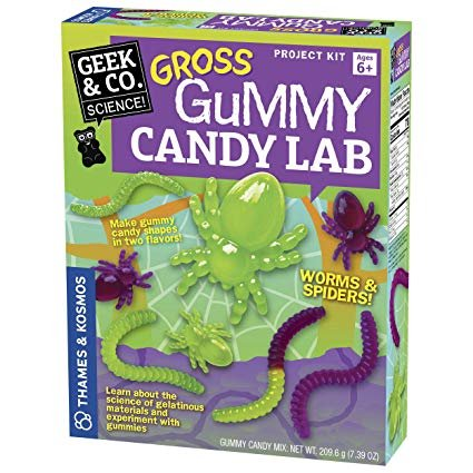 Gross Gummy Candy Lab: Worms & Spiders
