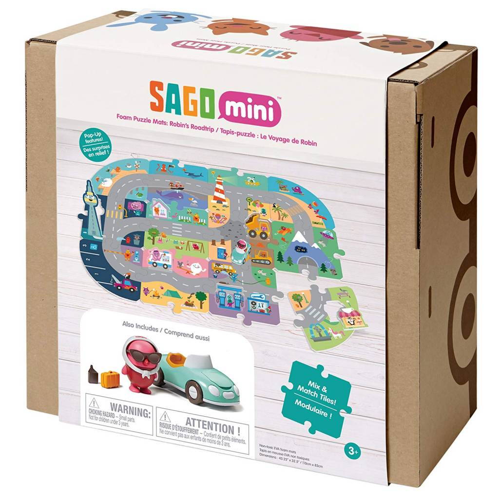 Sago Robin's Roadtrip Play Mat