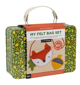 My Felt Bag Set: Woodlands