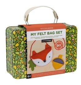My Felt Bag Set: Woodlands