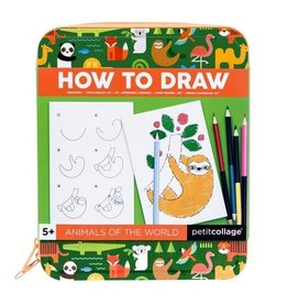 How to Draw: Animals of the World