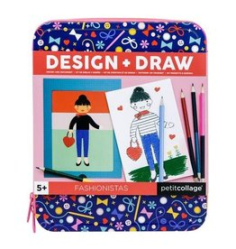 Petit Collage Design & Draw Fashionistas