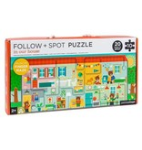 Follow & Spot Puzzle: In Our House
