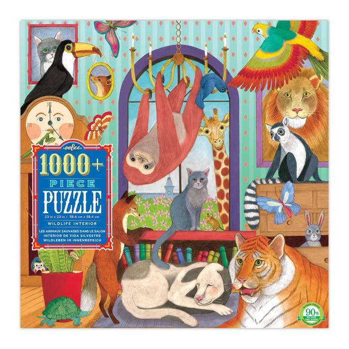 Wildlife Interior 1000+ Piece Puzzle